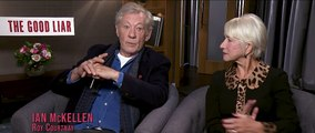 The Good Liar - Exclusive Interview With Helen Mirren, Ian McKellen & Bill Condon