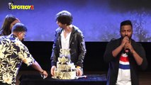 Shah Rukh Khan Celebrates His Birthday With His Fans Part 1  SpotboyE