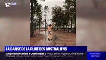 Après des mois de sécheresse, ces Australiens explosent de joie avec le retour de la pluie