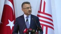 Cumhurbaşkanı Yardımcısı Oktay: 'ABD'nin hazırladığı terörizm raporu ne FETÖ ne de YPG terör örgütüyle olan mücadelemizden bizi alıkoyamaz' - ANKARA