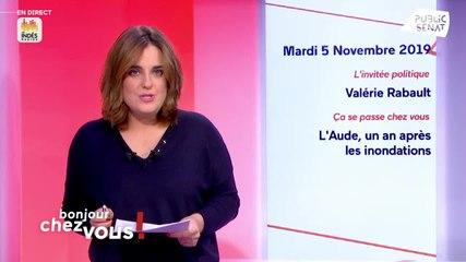 Valérie Rabault - Public Sénat mardi 5 novembre 2019