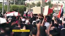 Irak : des milliers de personnes toujours dans la rue contre le gouvernement