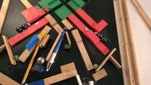 La fascinante vidéo d'une machine de 'Rube Goldberg' qui a du prendre un temps fou à préparer