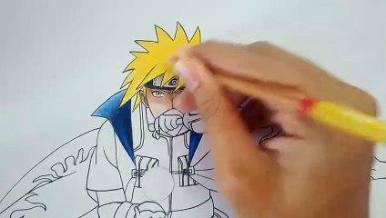 Drawing Minato Namikaze   Naruto