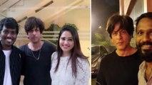 Atlee, Vetrimaran In Shahrukh Khan Birthday Party(Tamil)