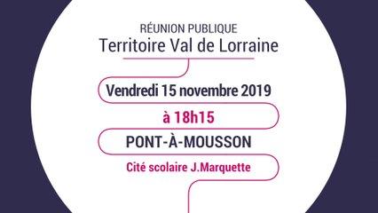 Rencontres territoriales - Territoire Val de Lorraine