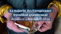 La majorité des Européennes travaillent gratuitement depuis ce 4 décembre: et en Belgique ?