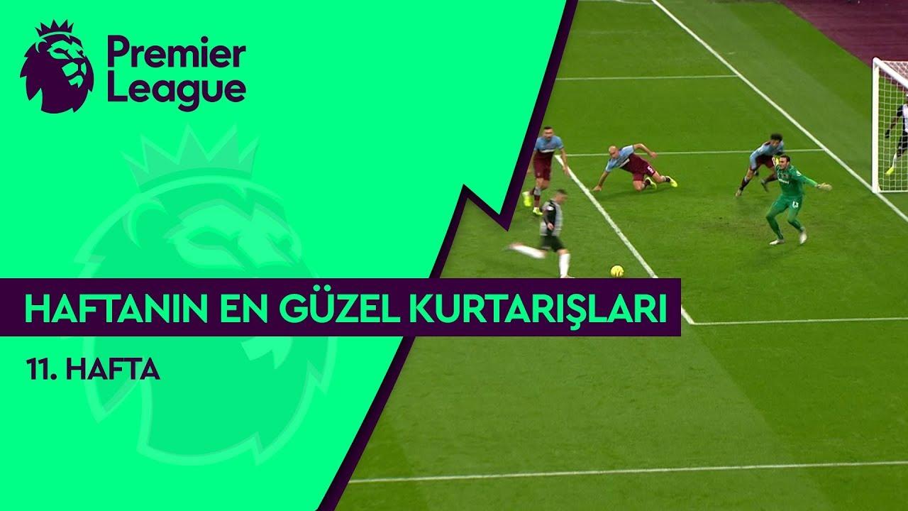 Premier League'de 11. Haftanın En Güzel Kurtarışları (2019/20)