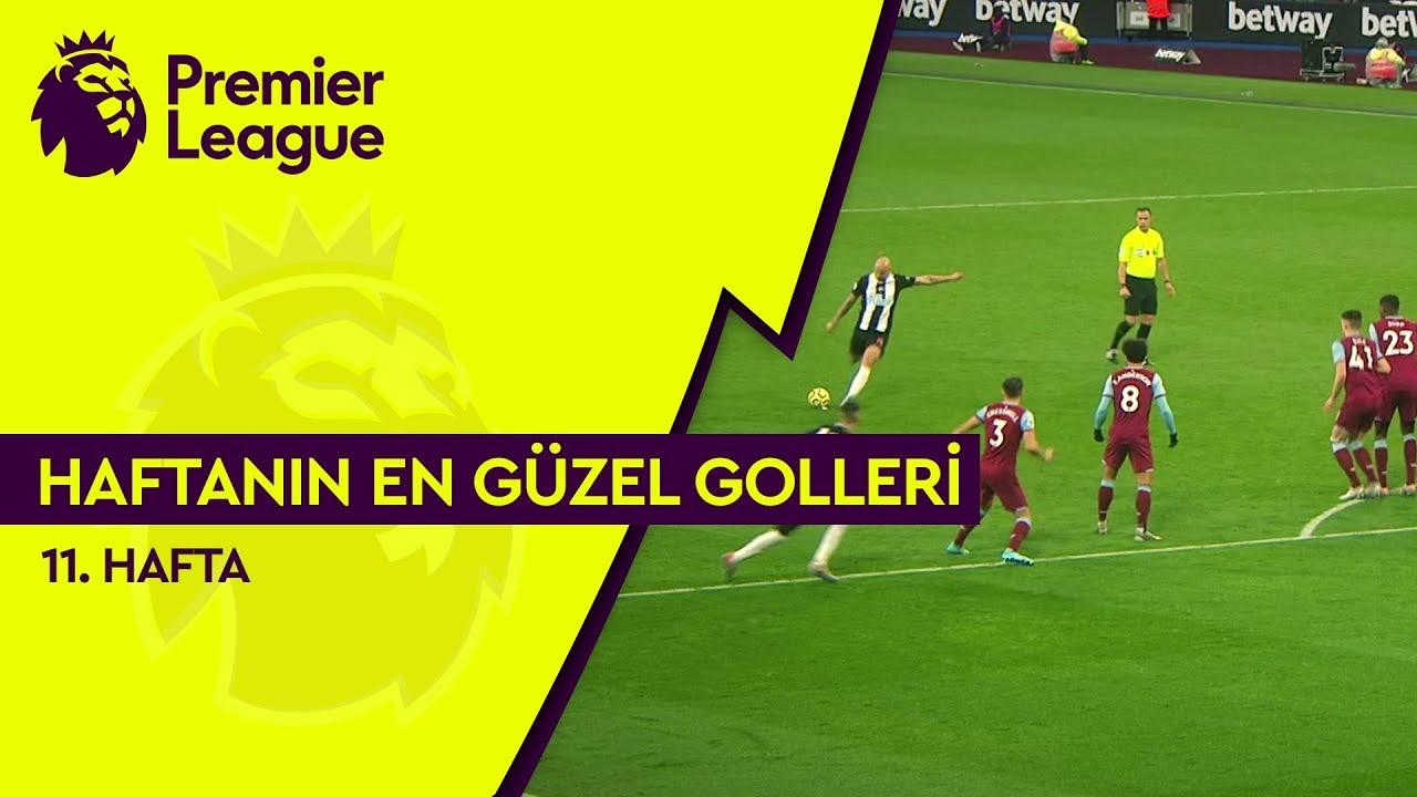 Premier League'de 11. Haftanın En Güzel Golleri (2019/20)