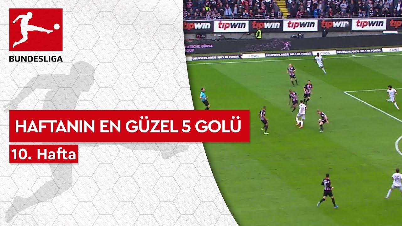 Bundesliga'da 10. Haftanın En Güzel 5 Golü (2019/20)