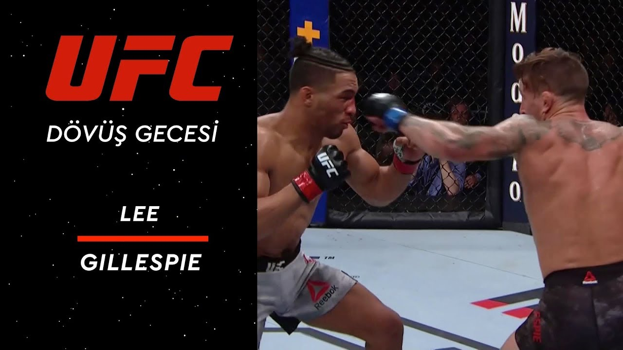 UFC 244 | Lee vs Gillespie