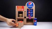 How to Make McDonald's and Pepsi Vending Machine