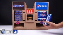 How to Make McDonald's Snickers and Pepsi Vending Machine