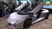 WOODEN supercar unveiled in Japan
