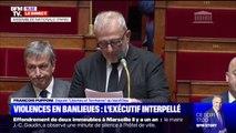 """Violences en banlieue: """"Quand allez-vous enfin reparler des quartiers et vous adresser à leurs habitants ?"""", interpelle le député François Pupponi"""