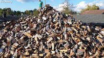 Firewood Charity Warms Hearts of Needy