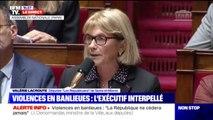 """Valérie Lacroute (LR) sur les violences en banlieues: Les mots du Premier ministre """"ont donné l'impression de minimiser et banaliser les faits"""""""