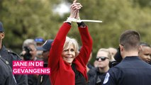 Jane Fonda wordt iedere vrijdag gearresteerd