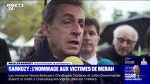 """Nicolas Sarkozy lors de l'hommage aux victimes de Mohammed Merah: """"Si ça continue c'est qu'il y a des choses qu'on devrait faire mieux"""""""