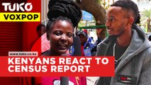 Voxpop : Kenyans react to 2019 census report