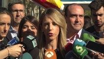 """Álvarez de Toledo a estudiantes acampados: """"No habrá independencia"""""""