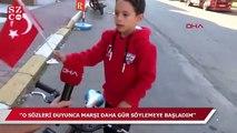 'Koca yürekli' Kadirhan: Birçok marşı ezbere biliyorum