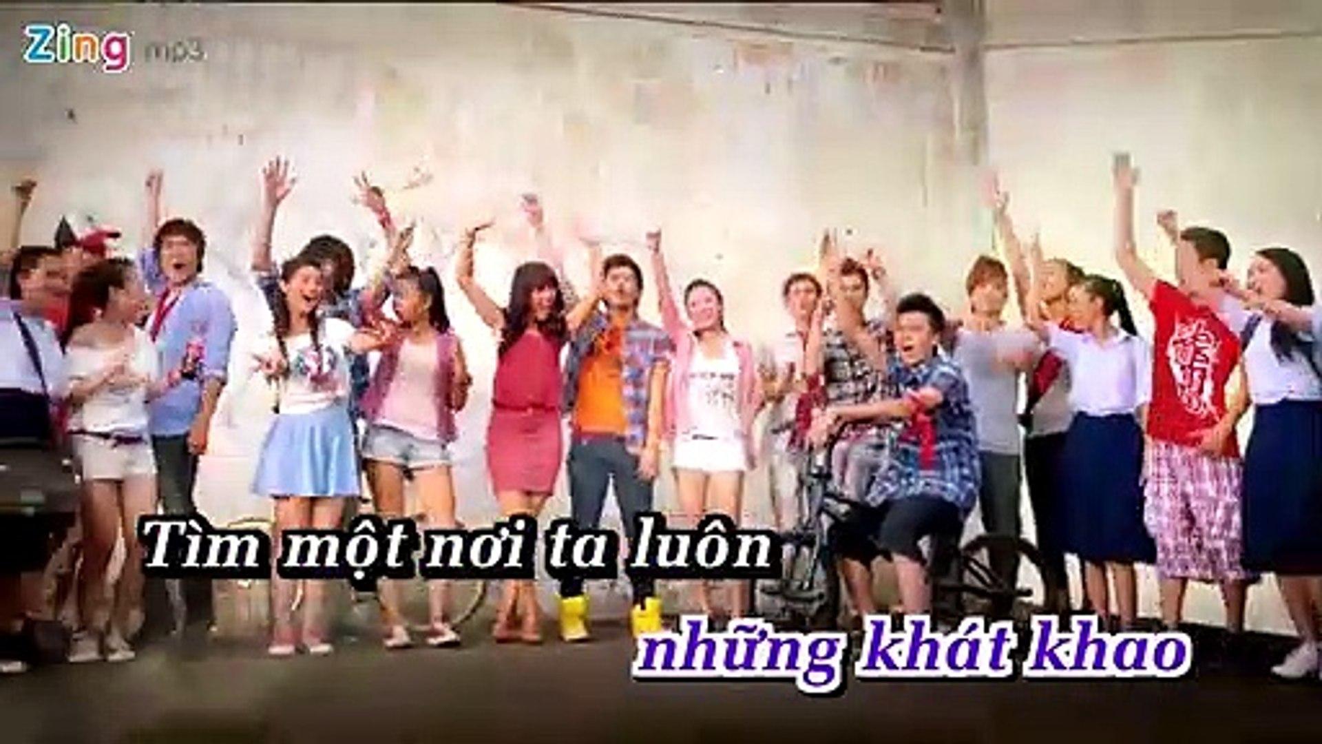 [Karaoke] Chạm Đến Ước Mơ - Phương Vy Ft. Văn Mai Hương, La Thăng [Beat]