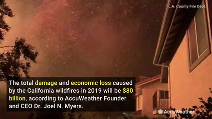 Despite strongest winds in a decade, California wildfire season not as bad as previous years