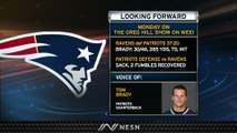 Tom Brady Not Panicking After Patriots' Week 9 Loss To Ravens
