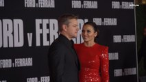 "Matt Damon and Luciana Barroso at the ""Ford v Ferrari"" Premiere"