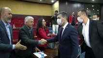 Belediye Meclis toplantısında maske takarak lösemiye dikkat çektiler - ANKARA
