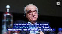Martin Scorsese Explains Marvel Criticism in New Op-Ed