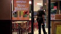 Armed mob demands Popeyes chicken sandwich