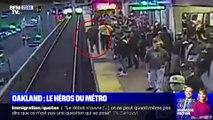 Oakland: sauvetage in extremis d'un homme tombé sur les rails du métro - 05/11