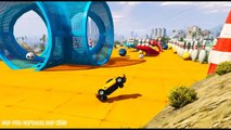 Learn Colors Super Cars and Train w/ Superheroes Fun Animation for Children and Babies
