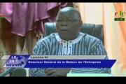 RTB/Point de presse de la Maison de l'entreprise en prélude à la 14e journée de l'entrepreneuriat burkinabé
