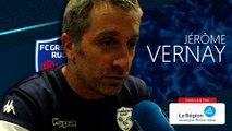 Jérôme Vernay : « Les joueurs sont repartis sur ce qui était prévu en deuxième »