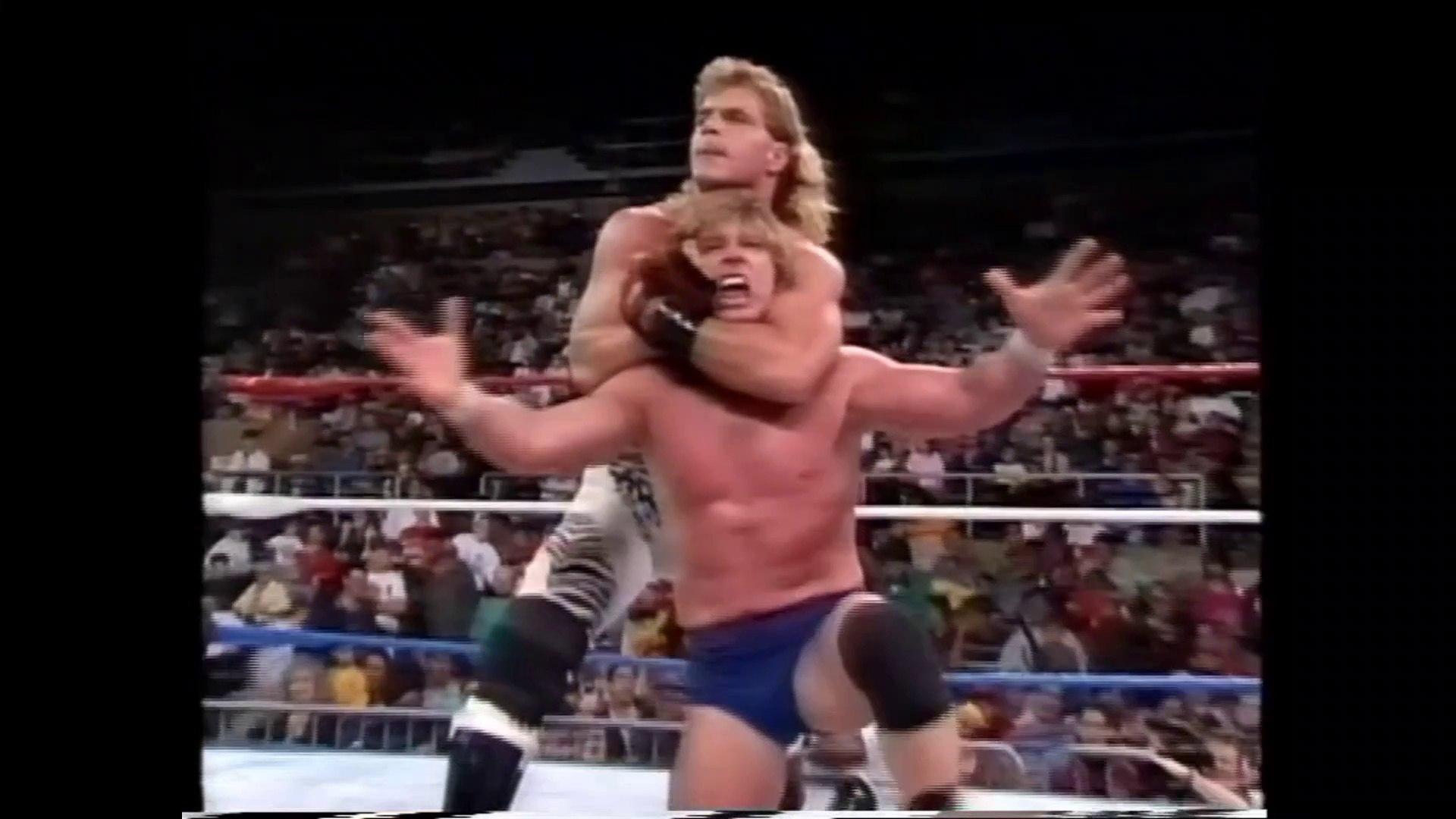 Rowdy Roddy Piper vs Shawn Michaels (03.29.92) - video Dailymotion