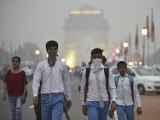 Delhi air quality continues to be in 'very poor' category