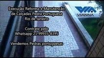 profissão calceteiro reforma de calçadas rio de janeiro rj