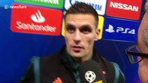 Dusan Tadic claims the referee 'destroyed' Ajax at Chelsea