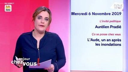 Aurélien Pradié - Public Sénat mercredi 6 novembre 2019