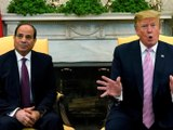 Trump calls Egypt's Sisi, backs talks on disputed dam on Nile