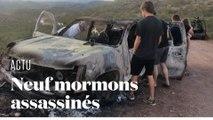 Impacts de balle, voiture carbonisée... La violence de l'assassinat de neuf mormons au Mexique