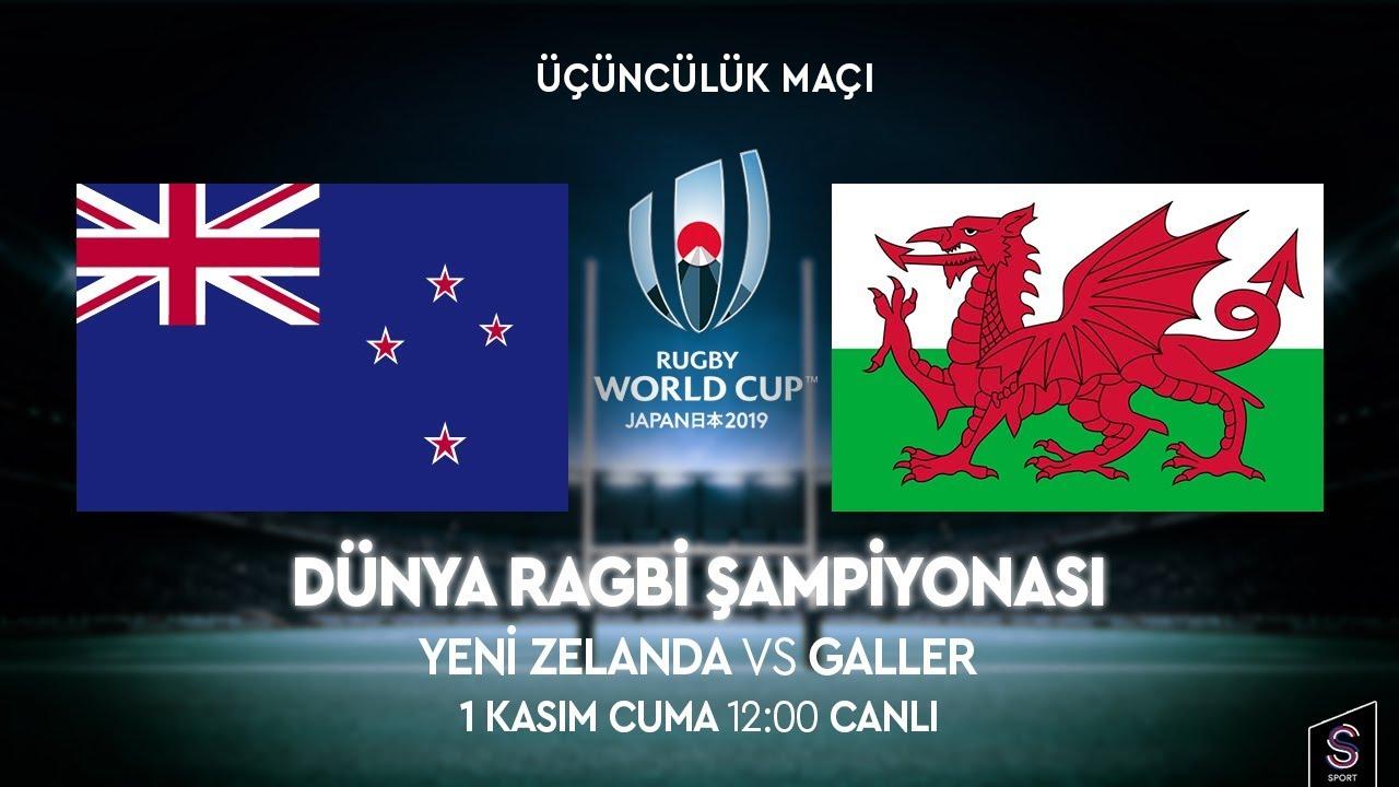 Dünya Rugby Şampiyonası | Yeni Zelanda vs Galler