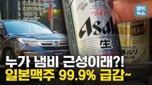 [엠빅뉴스] 일본 불매 운동 '직격탄'   맥주와 자동차 업체 눈물의 할인