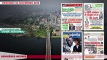 Le Titrologue du 06 novembre 2019-- le PDCI solidaire de Gbagbo et de Blé Goudé