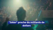 Le film «Joker» approche le milliard de dollars au box office !