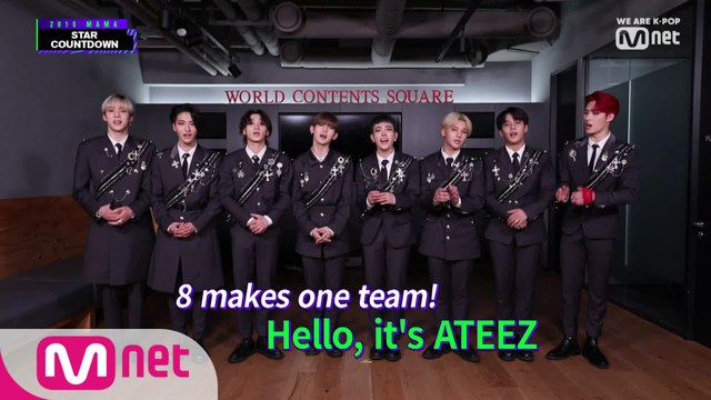 [2019 MAMA] Star Countdown D-28 by #ATEEZ