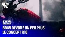 Salon international de la moto: BMW dévoile un peu plus son concept R18